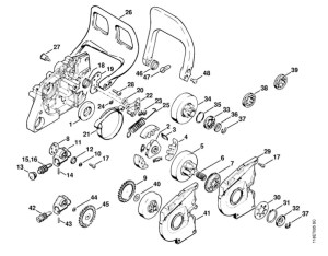 Stihl 028 Chainsaw Parts Diagram | Automotive Parts