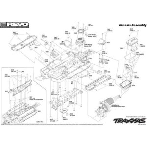 Traxxas Revo 25 Parts Diagram | Automotive Parts Diagram