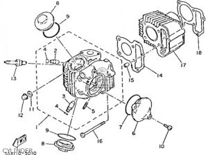 Yamaha Moto 4 Parts Diagram | Automotive Parts Diagram Images