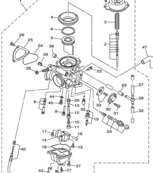 Yamaha Grizzly 660 Parts Diagram | Automotive Parts