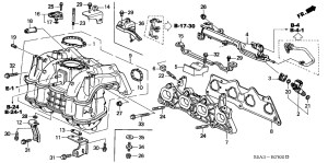 2001 Honda Civic Engine Diagram | Automotive Parts Diagram