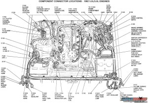 1991 Ford F150 Engine Diagram | Automotive Parts Diagram