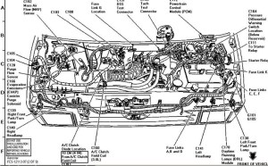 1994 Ford Ranger Engine Diagram | Automotive Parts Diagram