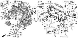 94 Honda Accord Engine Diagram | Automotive Parts Diagram