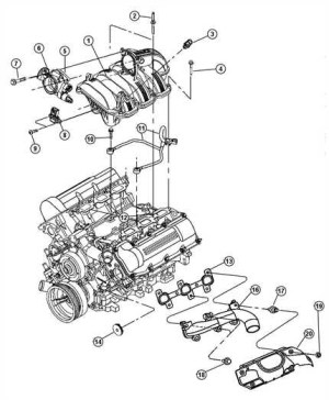 2003 Jeep Liberty Engine Diagram | Automotive Parts