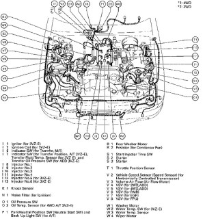 1995 Toyota 4Runner Engine Diagram | Automotive Parts