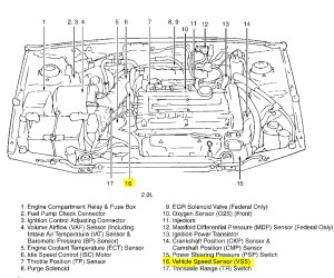 2004 Hyundai Accent Engine Diagram | Automotive Parts