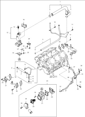 2005 Kia Sorento Engine Diagram | Automotive Parts Diagram
