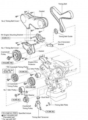 1993 Toyota Camry Engine Diagram | Automotive Parts Diagram Images
