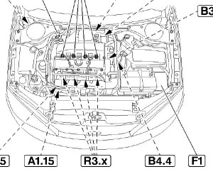 Ford Focus 2002 Engine Diagram | Automotive Parts Diagram