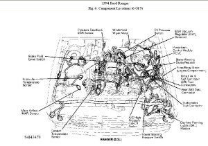 1994 Ford Ranger Engine Diagram | Automotive Parts Diagram
