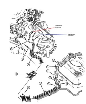 2002 Dodge Intrepid Engine Diagram | Automotive Parts