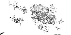 1999 Honda Accord V6 Engine Diagram | Automotive Parts