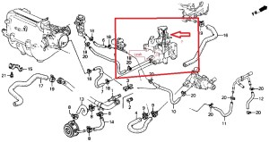 1999 Honda Accord V6 Engine Diagram | Automotive Parts Diagram Images