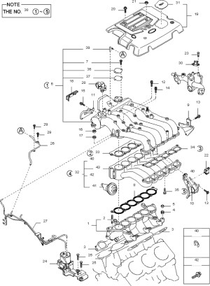 2003 Kia Sorento Engine Diagram | Automotive Parts Diagram