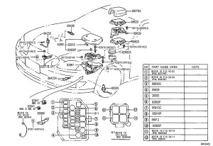 1999 Lexus Es300 Engine Diagram | Automotive Parts Diagram