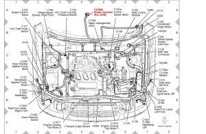 2002 Ford Escape Engine Diagram | Automotive Parts Diagram