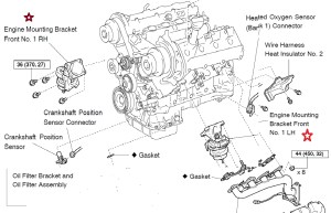 1999 Lexus Es300 Engine Diagram | Automotive Parts Diagram