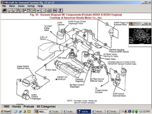 2000 Honda Accord Engine Diagram | Automotive Parts