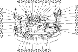2000 Toyota Camry Engine Diagram | Automotive Parts