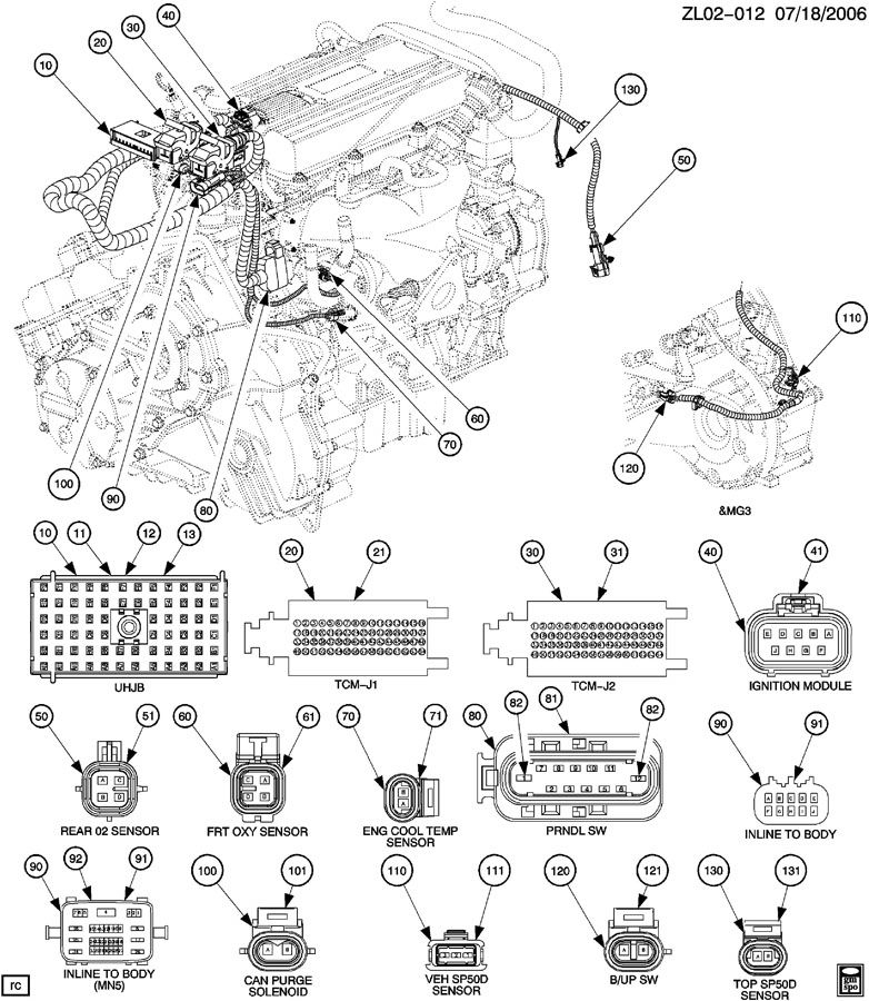 1993 isuzu rodeo engine diagram