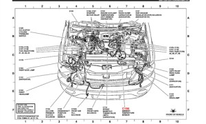 2003 Ford Escape Engine Diagram | Automotive Parts Diagram