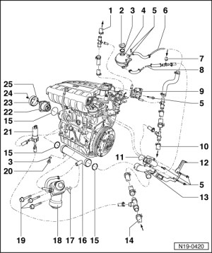 Vw Golf Mk4 Engine Diagram | Automotive Parts Diagram Images