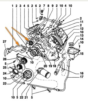 2001 Vw Beetle Engine Diagram | Automotive Parts Diagram