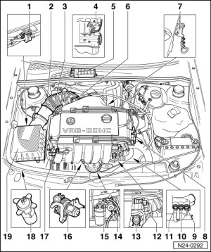 1999 Vw Beetle Engine Diagram | Automotive Parts Diagram