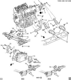 2000 Chevy Impala Engine Diagram | Automotive Parts