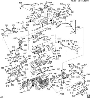 2004 Chevy Impala Engine Diagram | Automotive Parts