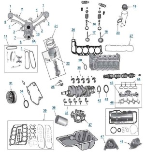 2007 Jeep Grand Cherokee Engine Diagram | Automotive Parts Diagram Images