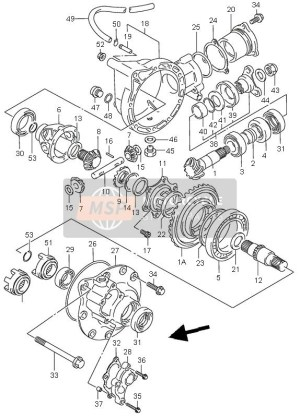 Suzuki King Quad 300 Parts Diagram | Automotive Parts