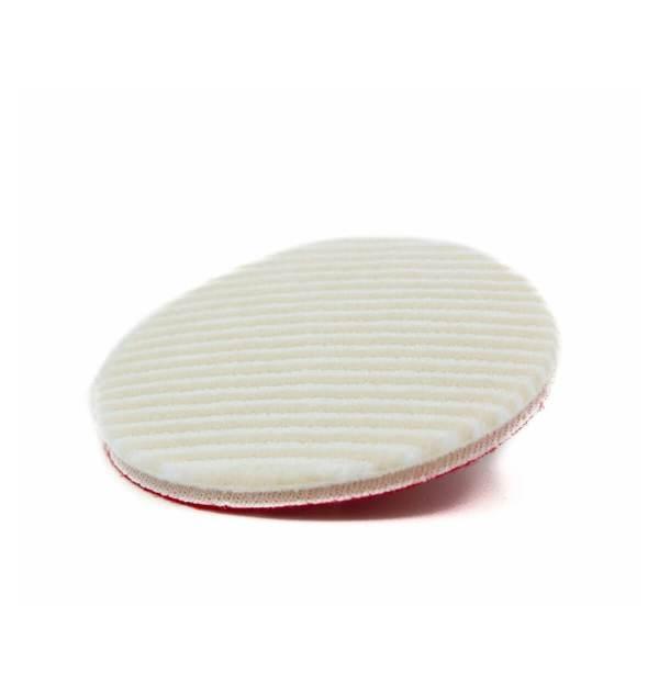 Polierpad rund weisse Oberfläche