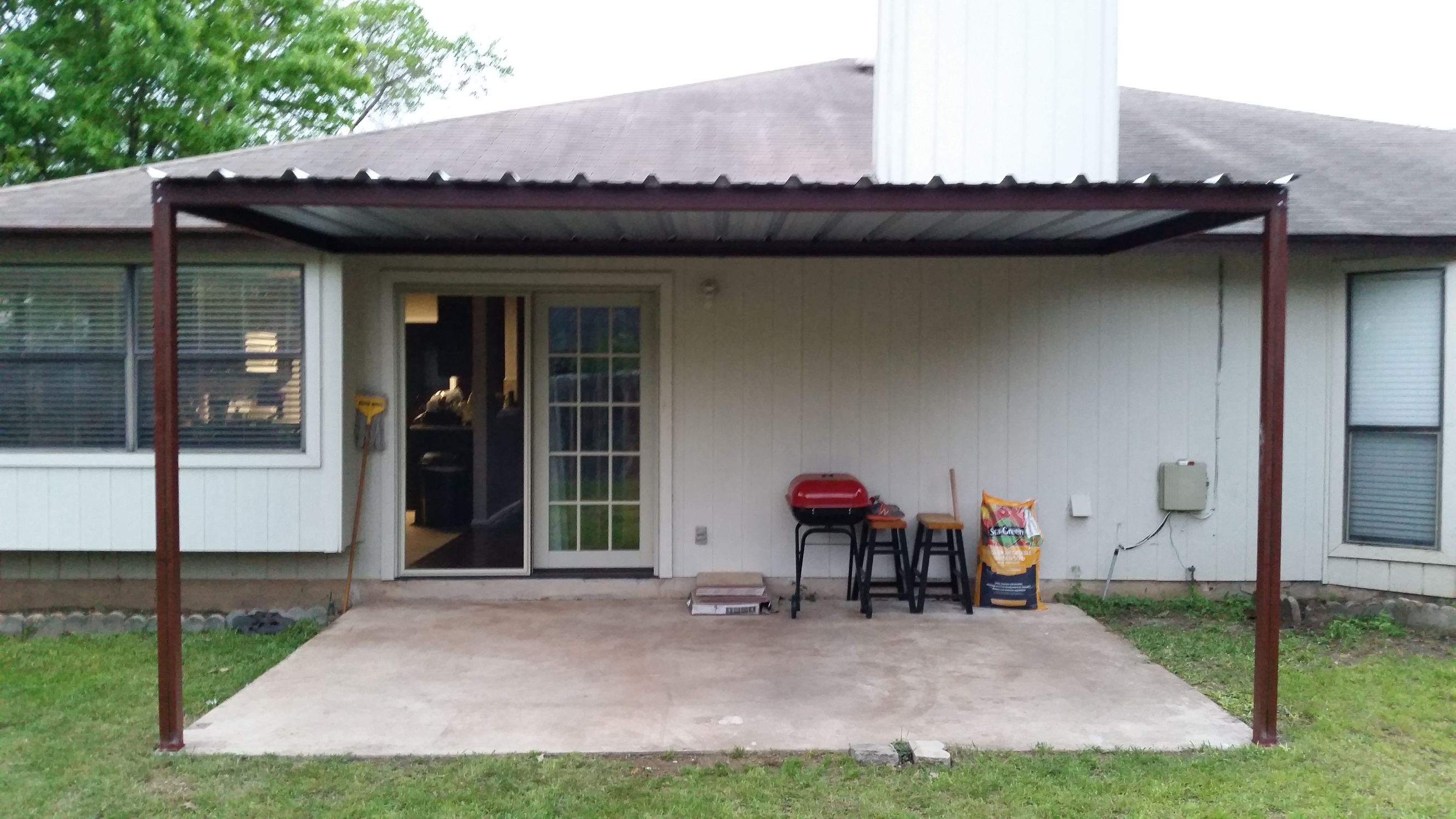 Back Porch Awning