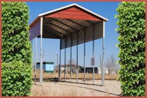 Steel Buildings Recreational Vehicle Port