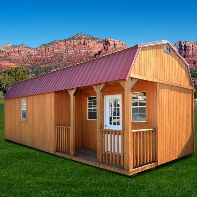 DuraTemp® Side Lofted Barn Cabin