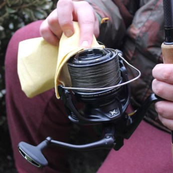 Cleaning your carp reels