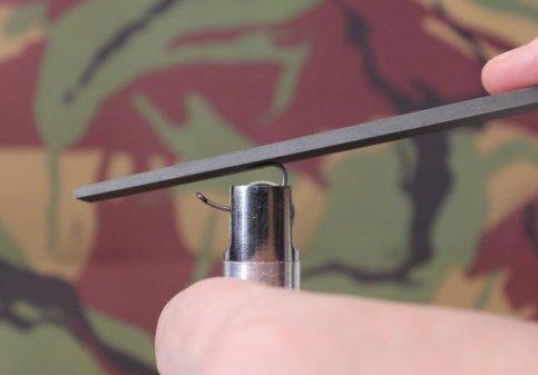 hook sharpening file