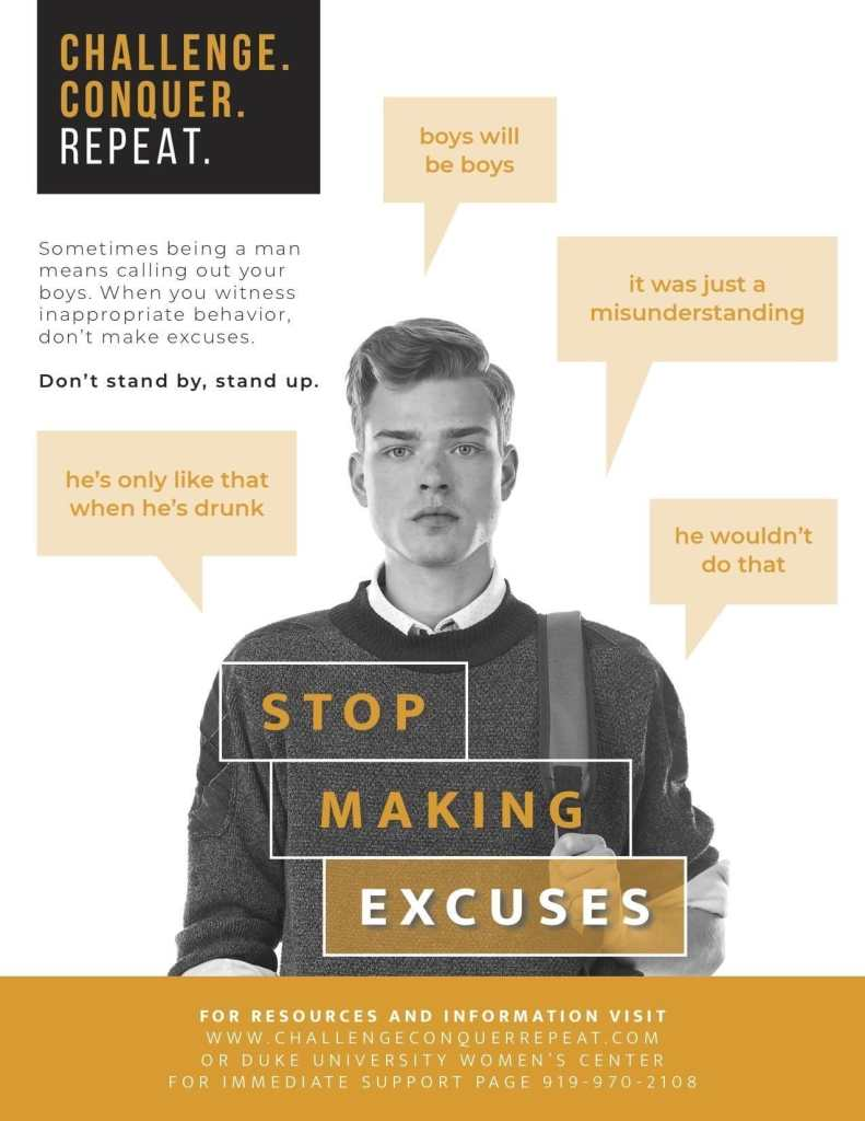Stop Making Excuses Poster