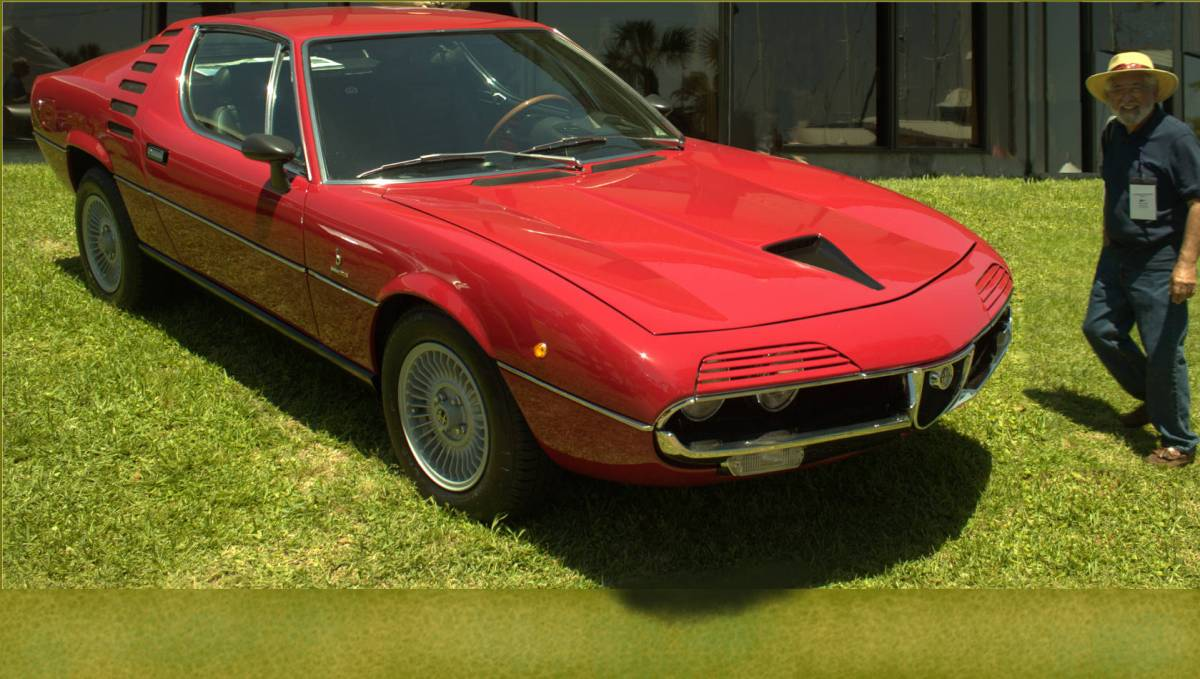 best loved a92c3 ffcb7 1971 Alfa Romeo Montreal   CarReads.com