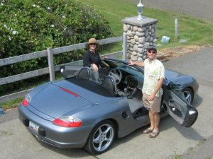 Tanja & Paul get their Boxster