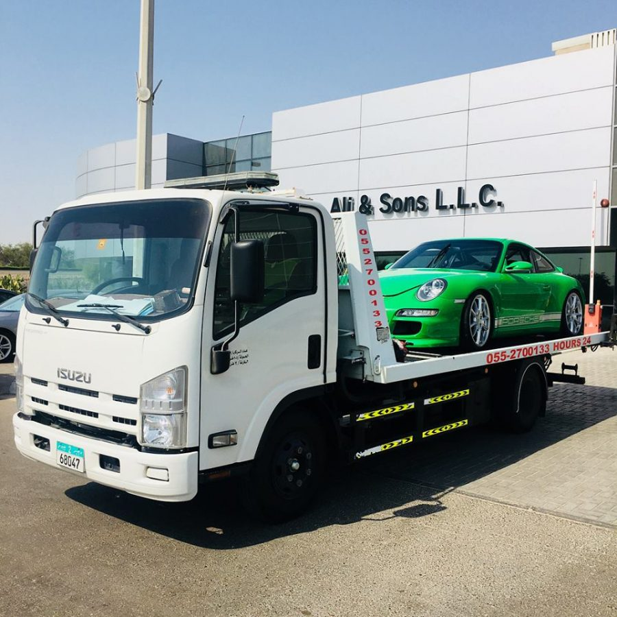car recovery in abu dhabi vehicle registration