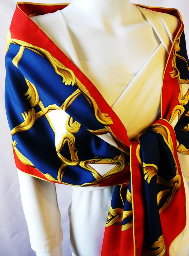 The Stunning Hermès Opera Scarf or Écharpe