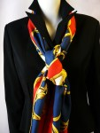 Couronnes (Crowns), Abadie, 1969 – Opera Scarf RARE