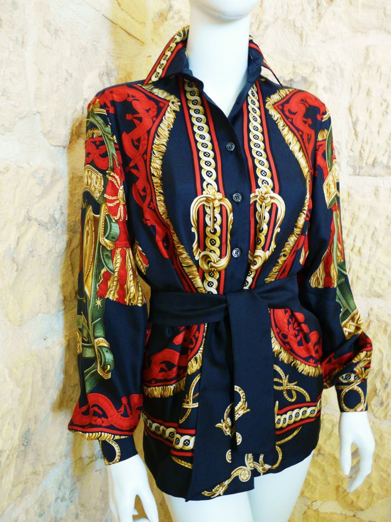 Bride Cour Silk Blouse