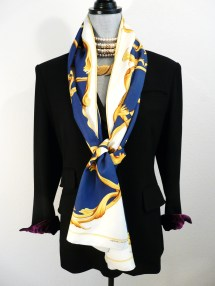 Crowns Reversible Shawl, NOW $379