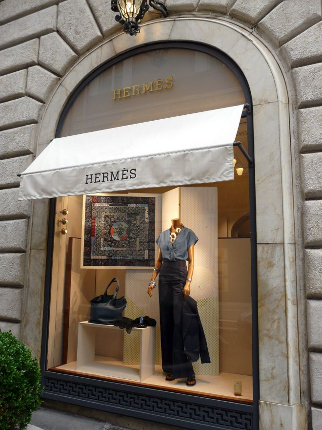 Hermes Boutique Rome, Italy