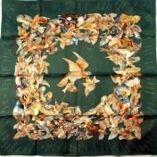 L'Intrus HERMES 90 cm Twill Silk Carre