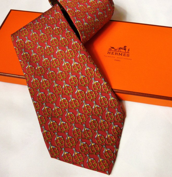 Authentic Pre-Owned Hermes Silk Tie